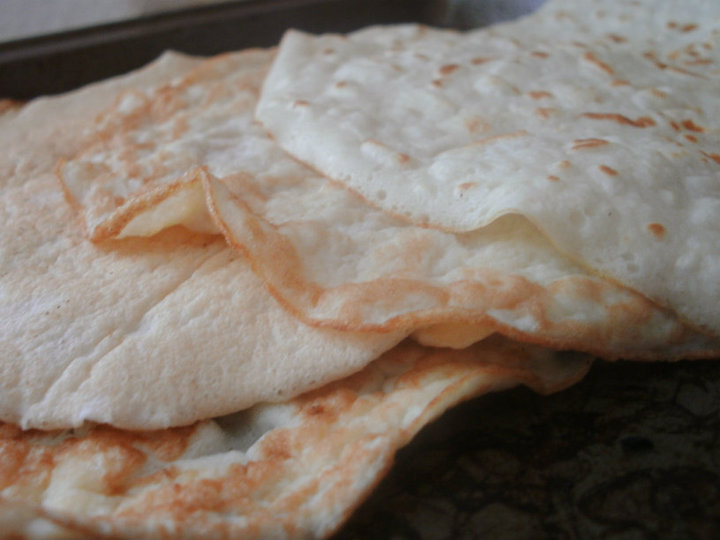 Grain-free, gluten-free tortillas made with coconut flour.