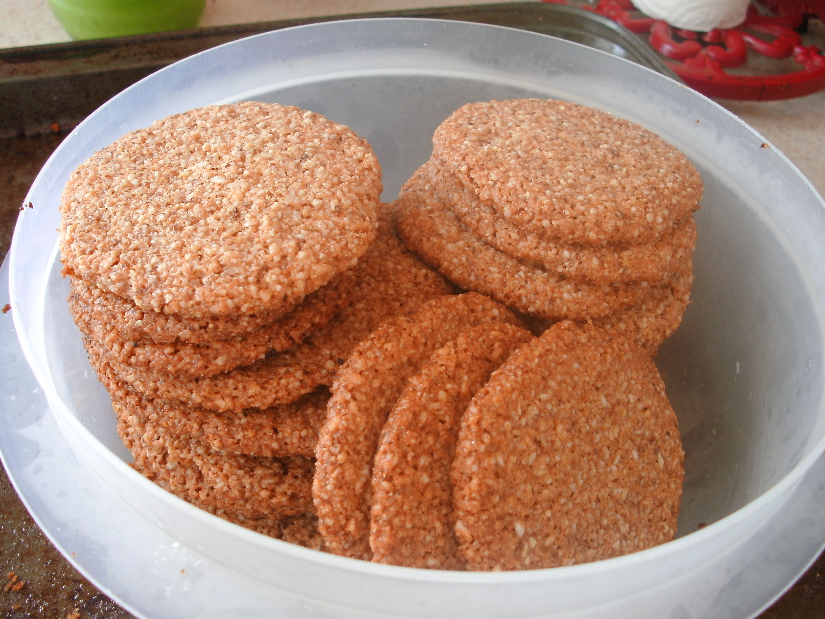 Countdown To Christmas Day One Healthy Almond Flour Holiday Cookies